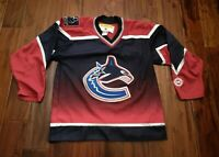 Vancouver Canucks NHL 3rd Jersey Alternate KOHO Canuck Place Men's M Autographed