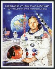 Mongolia Stamps 2019 MNH Moon Landing Apollo 11 Neil Armstrong Space 1v M/S