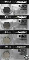 4 Energizer CR1220 ECR1220 1220 DL1220 3V Lithium Battery