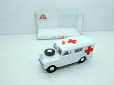 LAND ROVER AMBULANCIA CRUZ ROJA 1/87 HO EKO TOYEKO AMBULANCE RED CROSS 2127-A