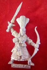 WARHAMMER WFB Citadel 1992 metallo comando High Elf Hero con spada e fiocco 1