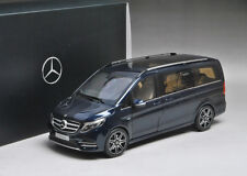 RARE NEW 1/18 Dealer Mercedes-Benz V-Class V-Klasse Viano Vito (Dark Blue) IN US