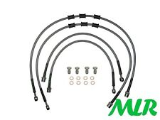 VW BEETLE TURBO BRAIDED BRAKE LINES HOSES PIPES CUSTOM LONG REAR LINE KIT AET