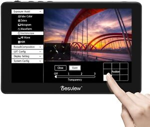 "Desview R7P 7"" Touch Screen Camera-Field-Monitor For Canon Nikon Sony Camcorder"