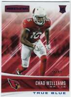 2017 Panini Rookies and Stars True Blue RC /49 #242 Chad Williams Cardinals