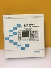 Tektronix 070-8244-00  2780 Series Spectrum Analyzers