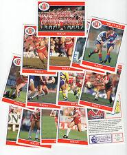 Merlin Rugby League Collezione 1991 Completa Team Sub Set di 14 Wigan Figurine