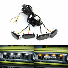 Grille LED Light Kit White Amber Warning Lights For Suzuki Jimny 2018 2019 2020