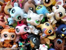 Littlest Pet Shop LPS Lot Random Surprise Gift Grab Bag 3 Pets Dog Cat Mixed EUC