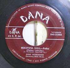 Polka 45 Gene Wisniewski - Beautiful Doll Polka / Emilia Polka On Dana