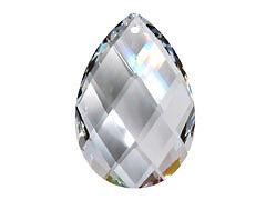 SWAROVSKI crystal tear pear 8741 suncatcher pendant 38x25 mm