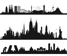 "Vinilo decorativo ""NEW YORK, MADRID, BARCELONA XXL"" stickers"