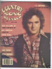 T G Sheppard Covers Country Song Roundup Magazine May  1980