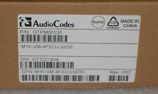 AudioCodes M1K-VM-4FXO-LS/GS