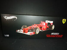Hot Wheels Elite Ferrari F2012 Malaysian GP Fernando Alonso #5 1/18 X5484