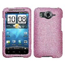 Pink Crystal Bling Hard Case Cover for HTC Inspire 4G