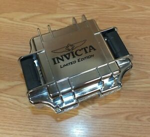 Invicta Limited Edition Chrome Style One Slot Impact Watch Case Only *READ*