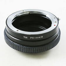 Pentax K PK Objektiv adapter für Micro 4/3 Tilt Kipplinse Olympus Panasonic M43
