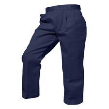 French Toast Toddler Boy Navy Blue Pants Sz 6 Pleat Front Adjustable Waist