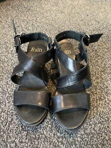 faith red wedge sandals