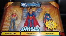 2008 DC. UNIVERSE *CRISIS  SERIES * WONDER GIRL, SUPERMAN, SUPERGIRL #3