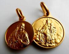 Skapuliermedaille, Marien-Anhänger, 585, 14 Kt Gold, Madonna