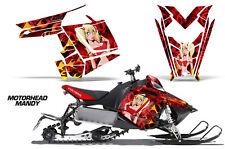 AMR Racing Sled Wrap Polaris Pro RMK Rush Snowmobile Graphic Kit 11-14 MOTO MNDY
