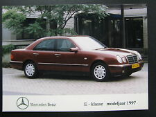 Photo Mercedes-Benz E-Klasse modeljaar 1997 (MBC)