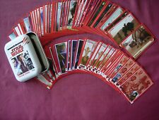 Journey to Star Wars: The Last Jedi X78 cards in Collector Tin Topps UK 2017 VFN