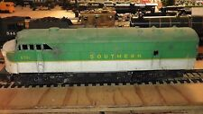 ho old plastic diesel locomotive doesn't run ahm tempo southern railway sr south