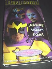 Bibleman Adventure Defeating the Shadow of Doubt (VHS, 2000)