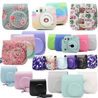 For Fujifilm Instax Mini 8/ 8+ / 9 Camera Case Bag - Choose Color/Design Fashion