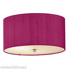 Dar Lighting Renoir Lamp Shade in Hot Pink - Without Diffuser