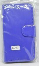 Samsung galaxy S III leather flip case/wallet (19300) Blue