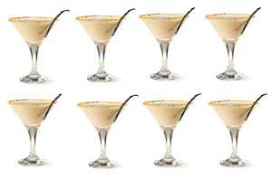 SET OF 8 - Martini Cocktail Glasses 175ml