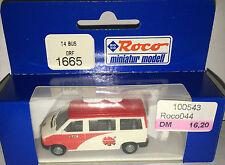 """Roco miniatur modell H0 1665 - T4 Bus """"DRF"""", H0 1:87, neu + OVP"""