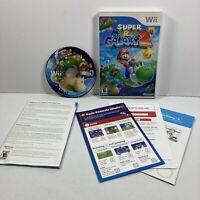 Super Mario Galaxy 2 (Nintendo Wii, 2010). Manual Included. Tested Please Read!