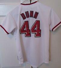 MLB Washington Nationals Adam Dunn #44 Youth Medium Jersey by Majestic