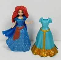 Disney Magiclip Princess Merida From Brave Lot Polly Pocket Size 2 Dresses
