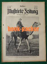 BERLINER ILLUSTRIRTE ZEITUNG 1915 Nr. 14: Mit den türkischen Truppen im Felde