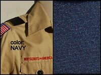 BOY CUB SCOUT Pair Shoulder Loops Epaulet - NAVY BLUE - Save on qty!