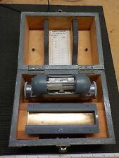 Precision Clinometer - Gunnery R. W. Munro 30 sec Spirit Level