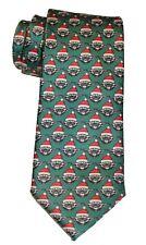 Star Wars Yoda  Santa Claus Christmas Holiday Green Necktie Mens Neck Tie