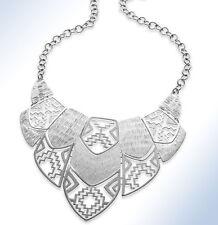 Design Bib Necklace Style&Co Silver-Tone Cut-Out
