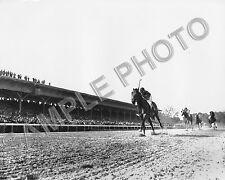 CITATION 1948 TRIPLE CROWN PREAKNESS STAKES EDDIE ARCARO UP 8X10 PHOTO