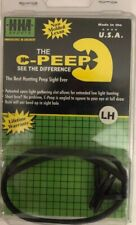 The C-Peep See The Difference The Best Hunting Peep Sight Ever LH,Black SHIP24H