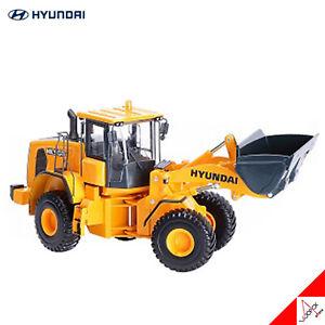 HYUNDAI 1/35 HL960 WHEEL LOADER Die-Cast Construction Miniature High Quality