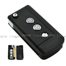 3 BTNS Remodel Uncut Flip Remote Key Shell Case For Nissan Frontier Murano Quest
