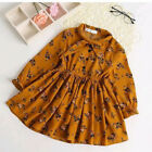 Toddler Kid Baby Girl Princess Dress Floral Pageant Party Tutu Christmas Dresses