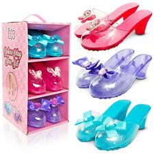 Little Fairy Princess Girls Deluxe Dress Up Jelly Play Shoes - Fancy Set of 3